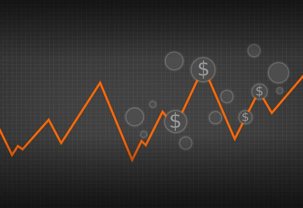 Download Free Stock Photo of Financial Graph - Capital Markets