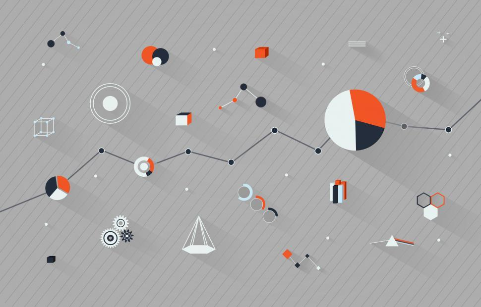 Download Free Stock Photo of Statistics and Figures - Data Analytics Concept