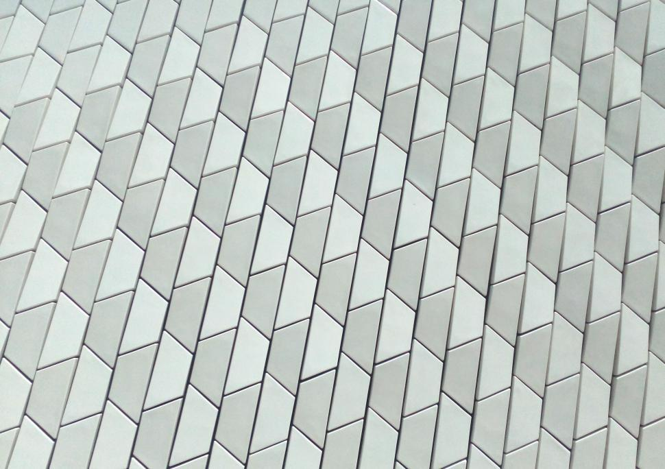 Download Free Stock HD Photo of Architectural Ceramic Tiles - Modern Materials - Pattern - MAAT Online