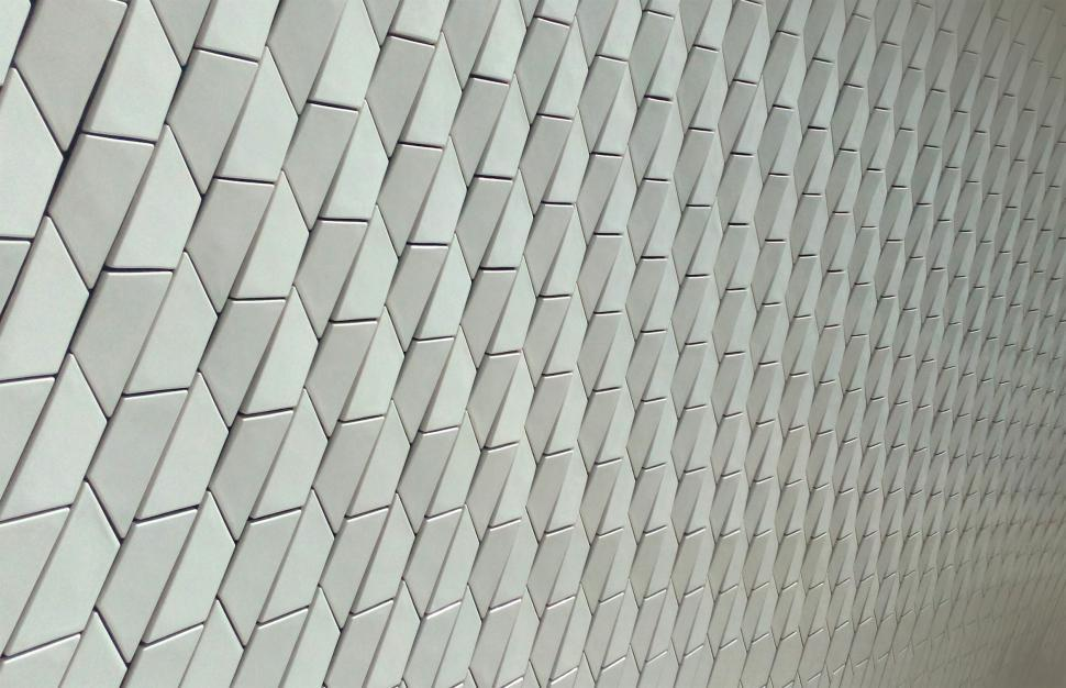 Download Free Stock Photo of Architectural Ceramic Tiles - Modern Materials - Pattern