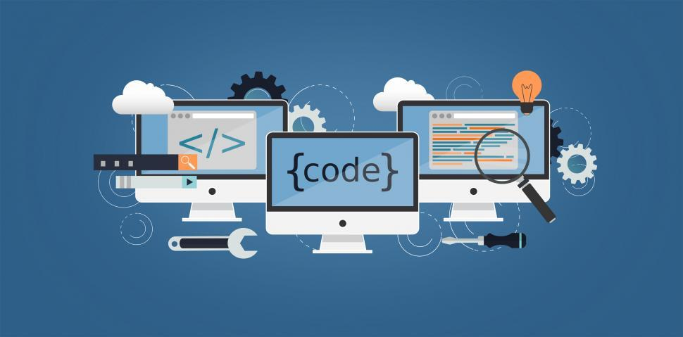 Download Free Stock Photo of Coding and Programming - Computer Science and IT