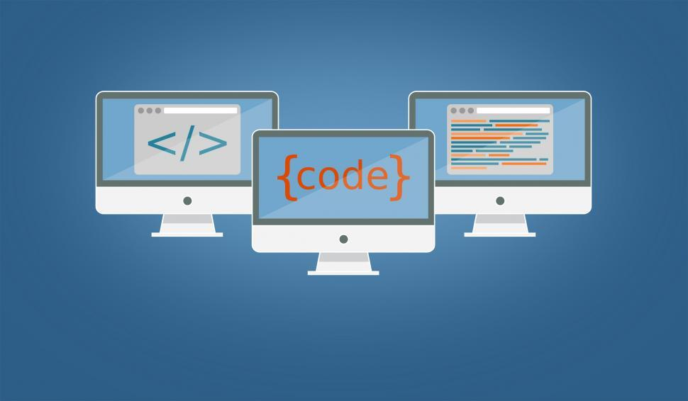 Download Free Stock Photo of Coding and Programming - Software Development and IT