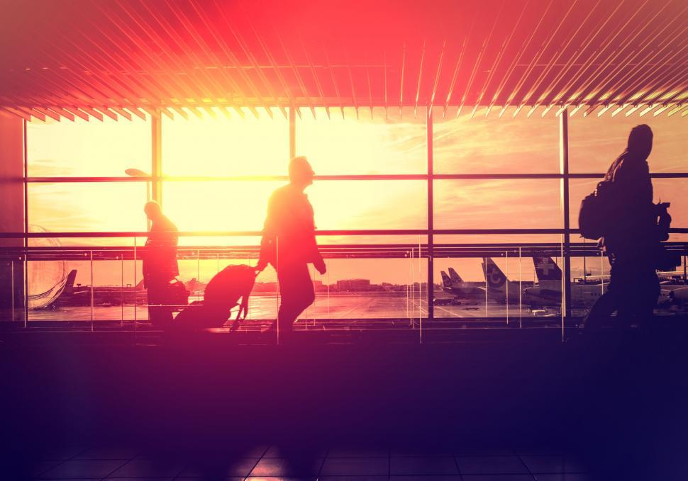 Download Free Stock Photo of Airport Lounge - Arrivals and Departures - Travel and Leisure