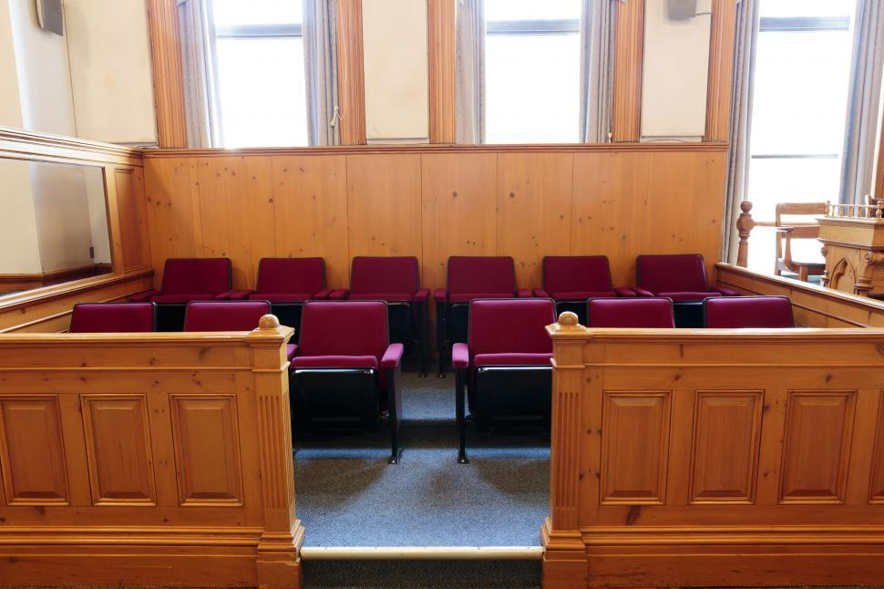 Download Free Stock HD Photo of Jury Box Online