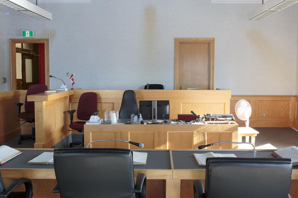 Download Free Stock Photo of Courtroom