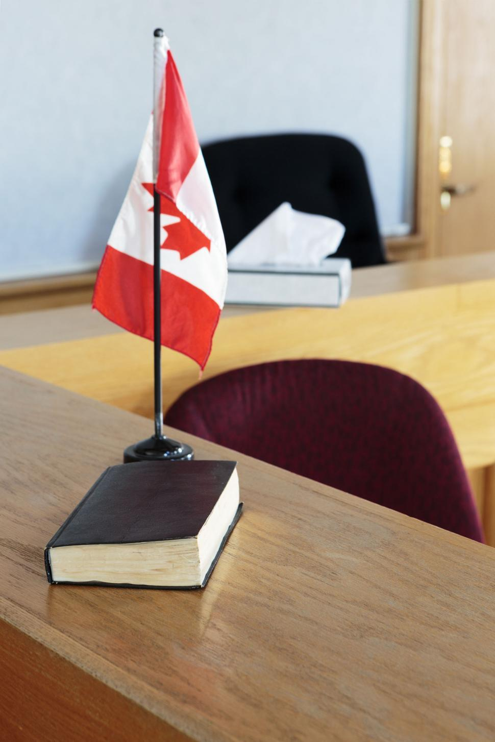 Download Free Stock Photo of Court book and flag