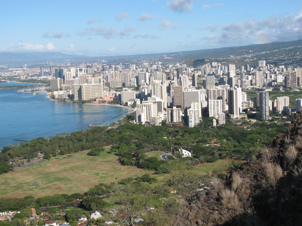 Download Free Stock HD Photo of Waikiki, Hawaii Online
