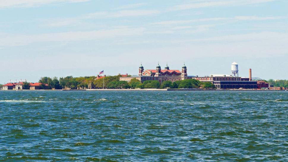 Download Free Stock HD Photo of Ellis Island Online