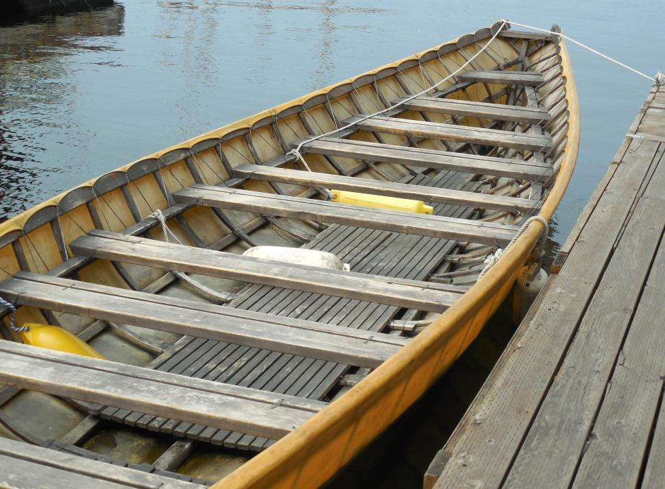 Download Free Stock HD Photo of Wooden Boat  Online