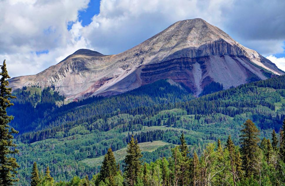 Download Free Stock Photo of Coal Bank Pass on the Million Dollar Highway