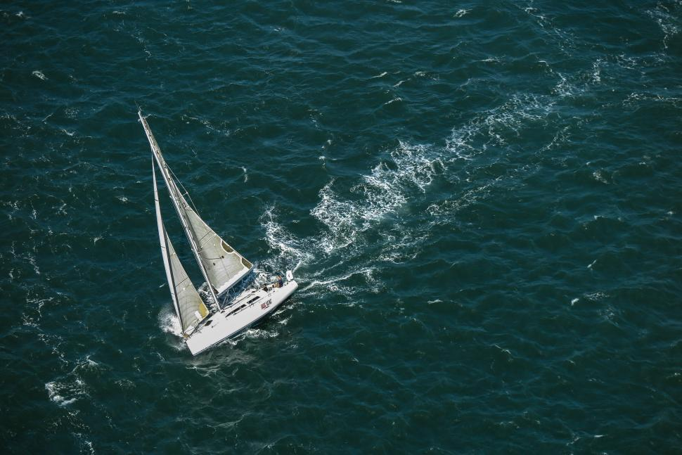 Download Free Stock HD Photo of Sailboat in the Bay Online