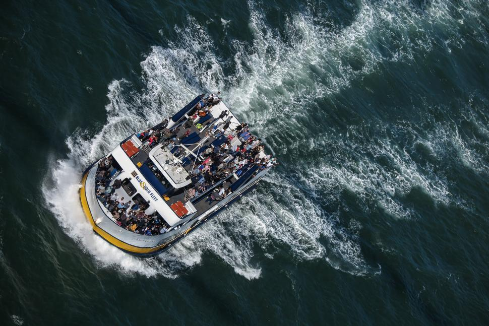 Download Free Stock HD Photo of Sightseeing boat Online