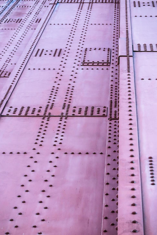 Download Free Stock HD Photo of Detail of metalwork on Golden Gate Bridge Online