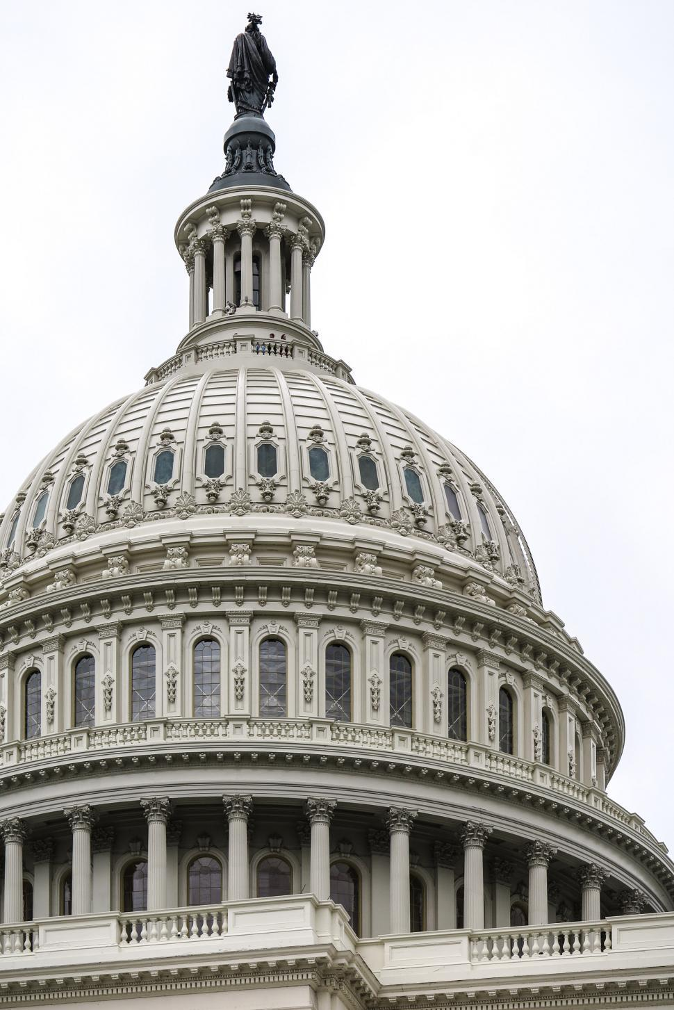 Download Free Stock Photo of US Capitol Dome