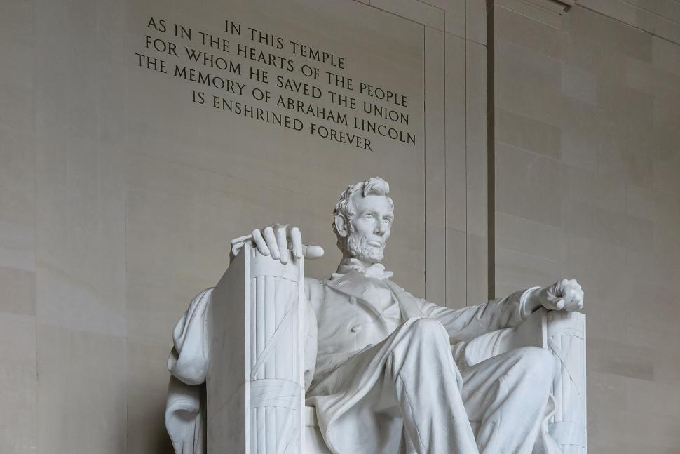 Download Free Stock HD Photo of Lincoln Memorial, statue of Abraham Lincoln Online