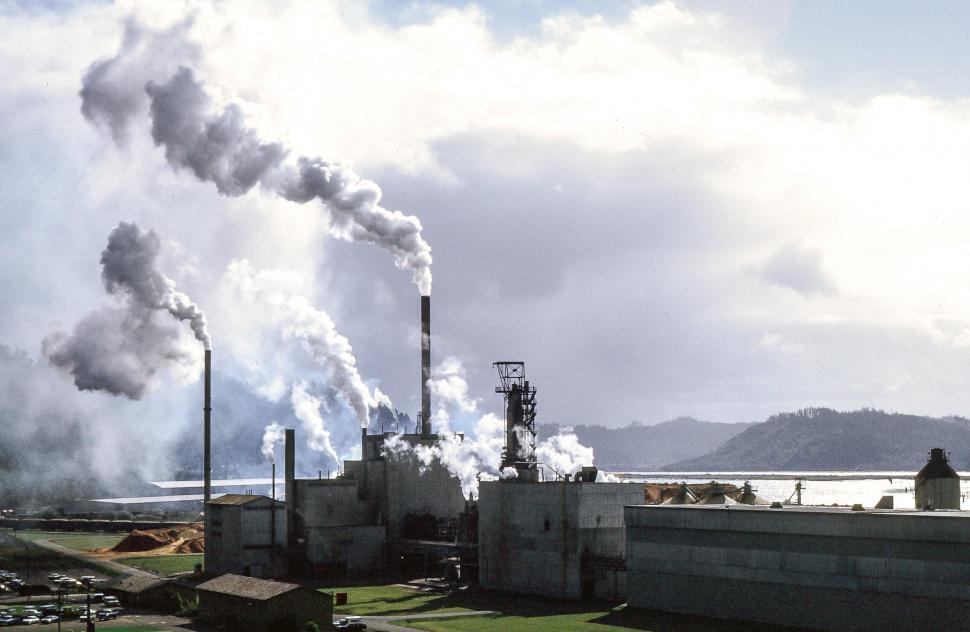 Download Free Stock Photo of Humboldt Bay Nuclear Power Plant