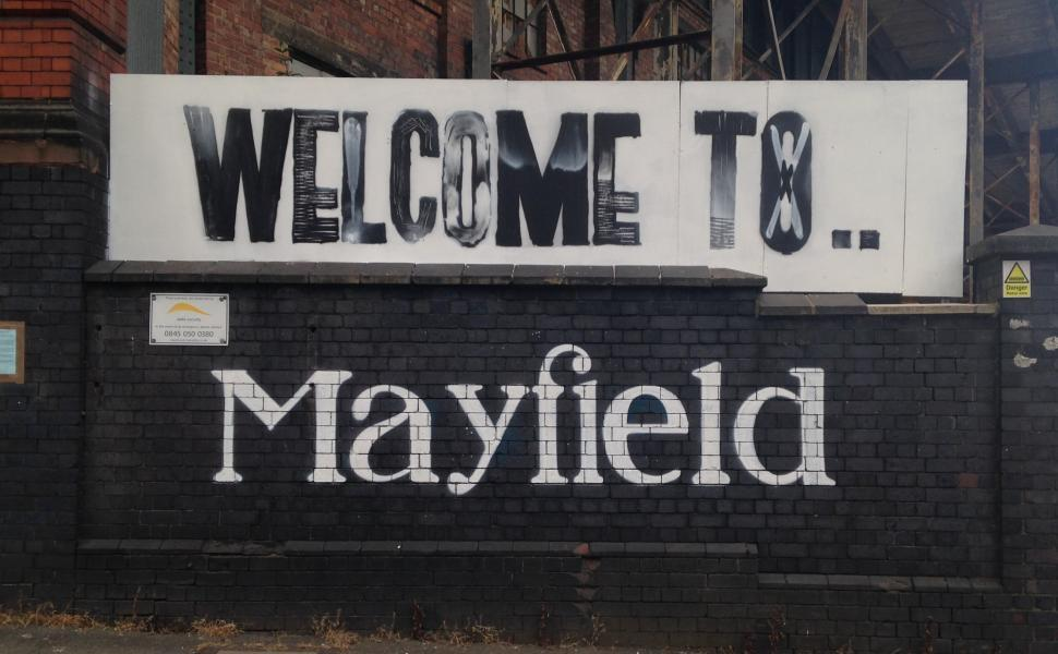 Download Free Stock Photo of Welcome to Mayfield