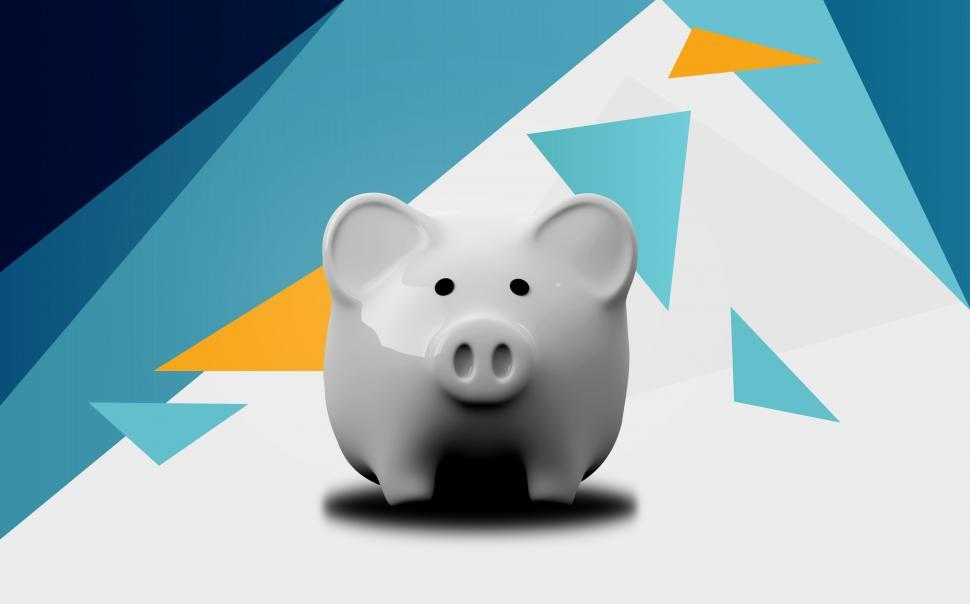 Download Free Stock HD Photo of Piggy Bank - Abstract Background Online