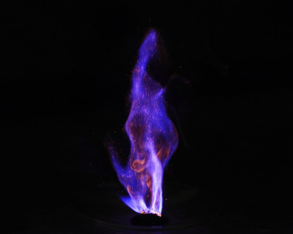 Download Free Stock Photo of Spontaneous combustion reaction