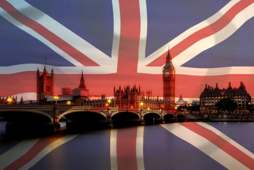 Download Free Stock Photo of Union Jack Flag On London - Tourism in the United Kingdom