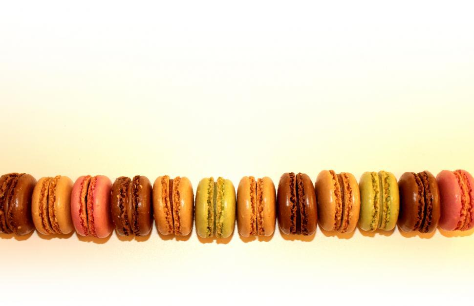 Download Free Stock HD Photo of French Macaroons - With Copyspace - Sweets and Cookies Online