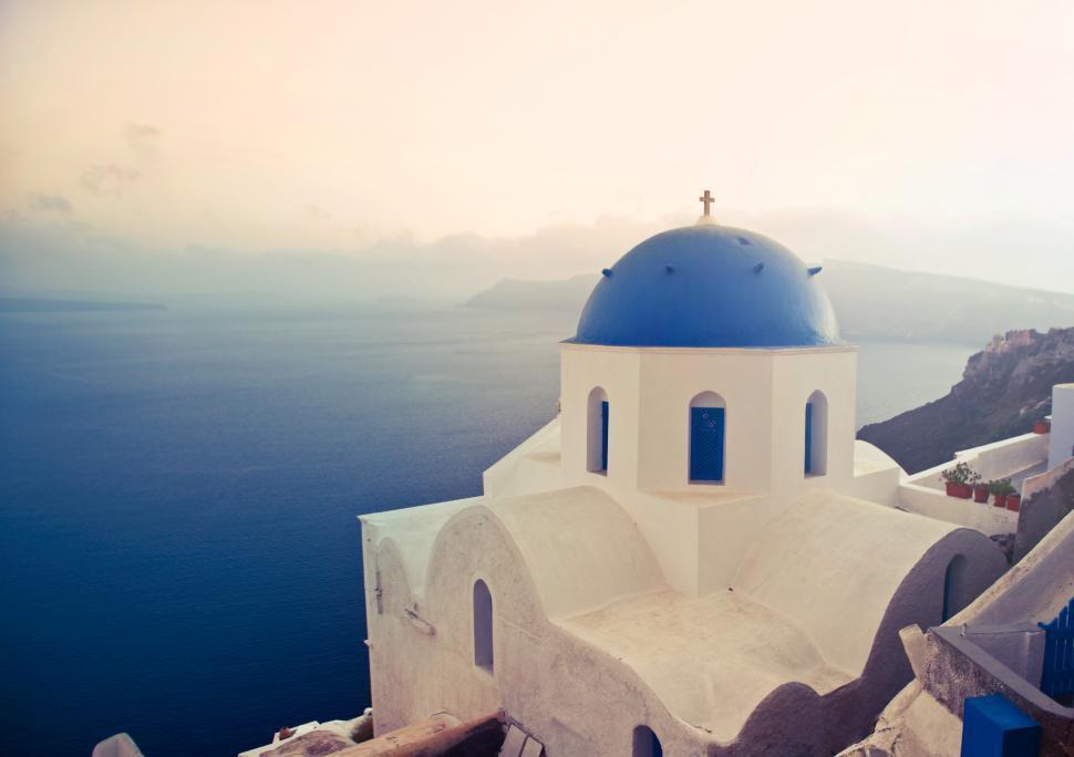 Download Free Stock Photo of Santorini island,Greece
