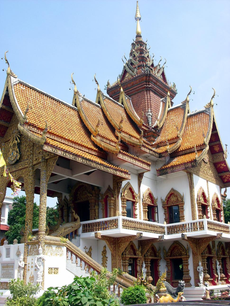 Download Free Stock Photo of Wat Bupparam Buddhist Temple