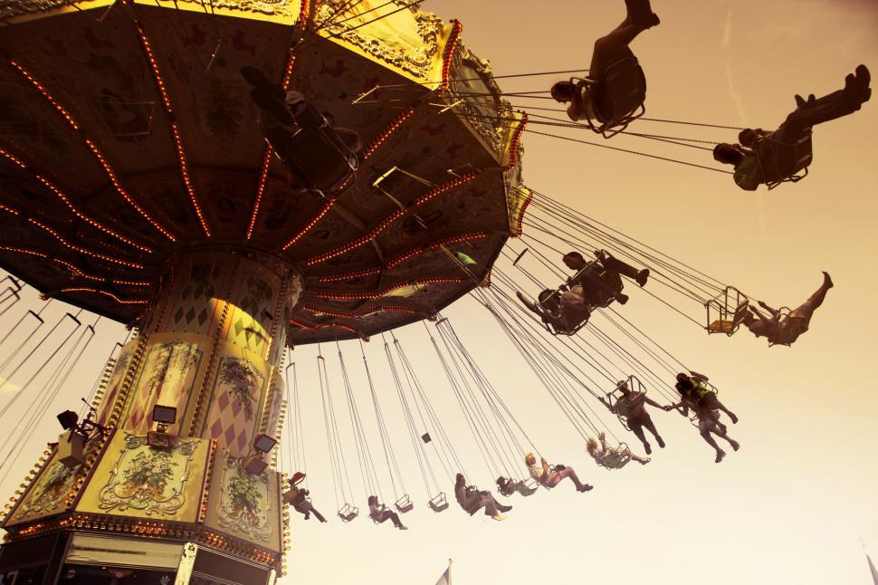 Download Free Stock HD Photo of Amusement park rides Online