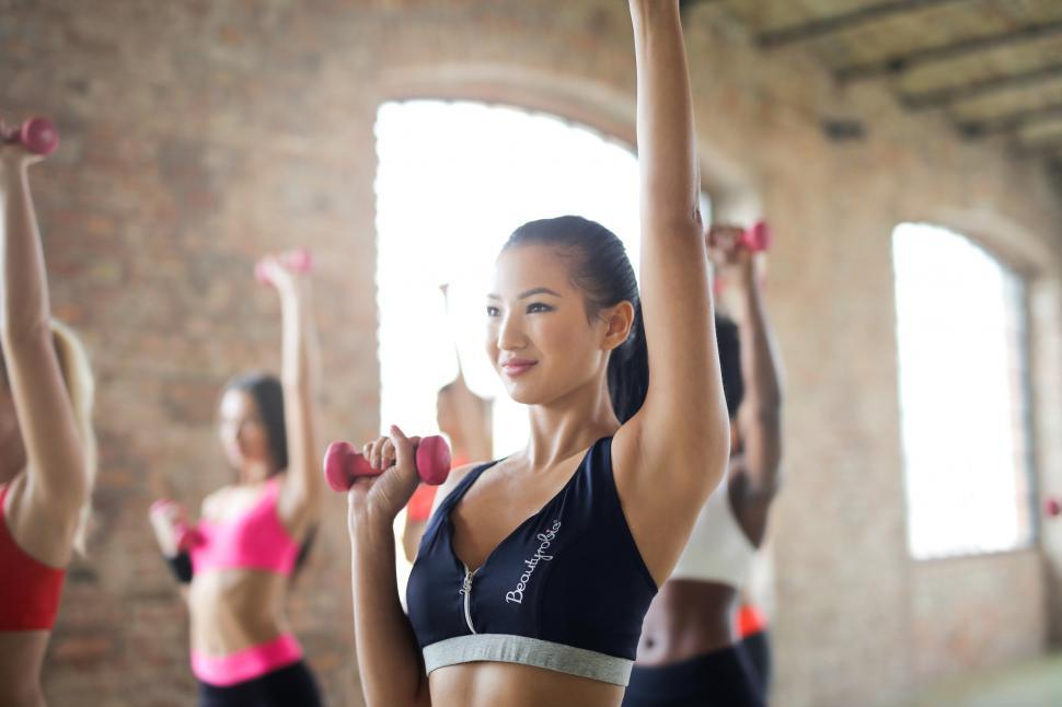 Download Free Stock HD Photo of Group of Women Doing Work Out Online