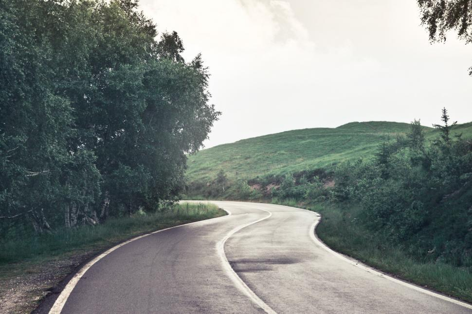 Download Free Stock HD Photo of An empty road Online