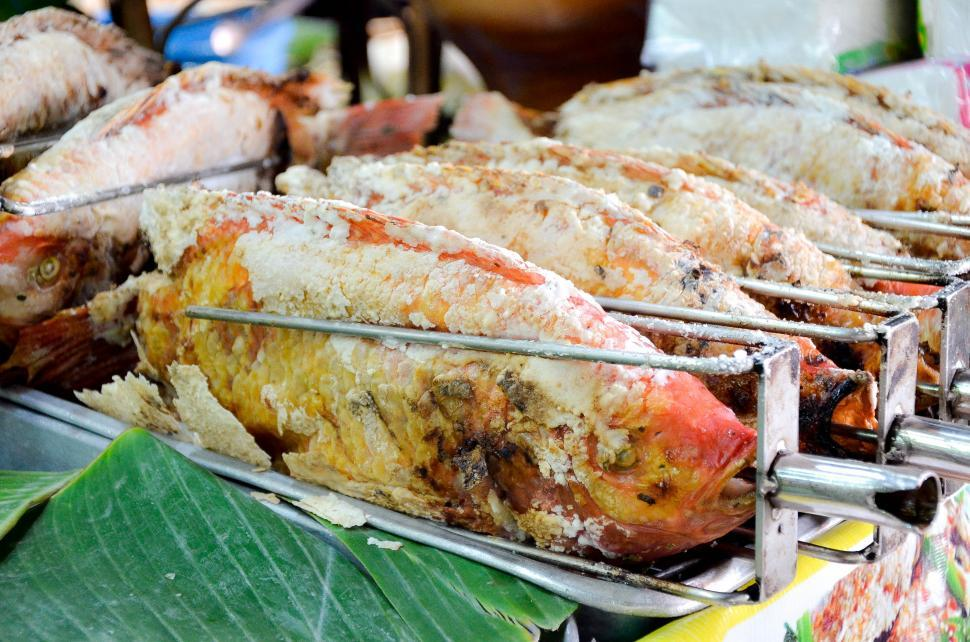 Download Free Stock HD Photo of Various Thai Food - Fish Online