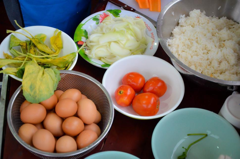 Download Free Stock Photo of Food Ingredients