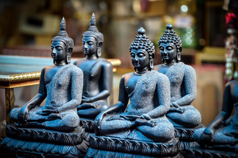 Download Free Stock Photo of Buddha Pottery - Clay Figures