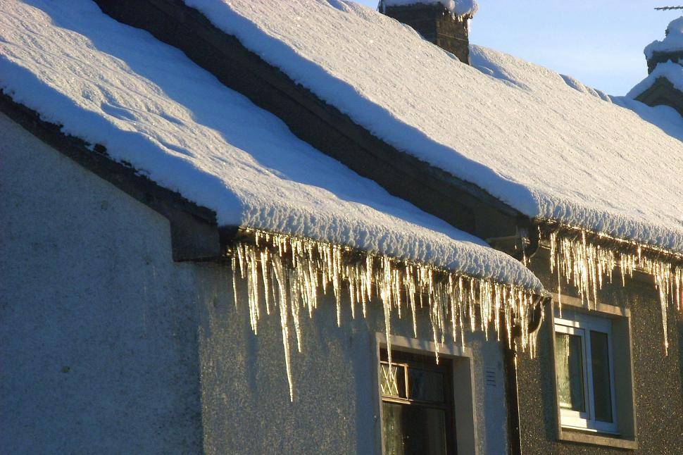 Download Free Stock Photo of Icicles