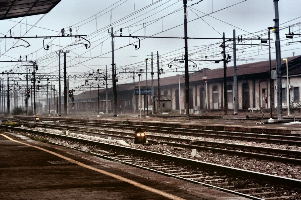 Download Free Stock Photo of Railroad track