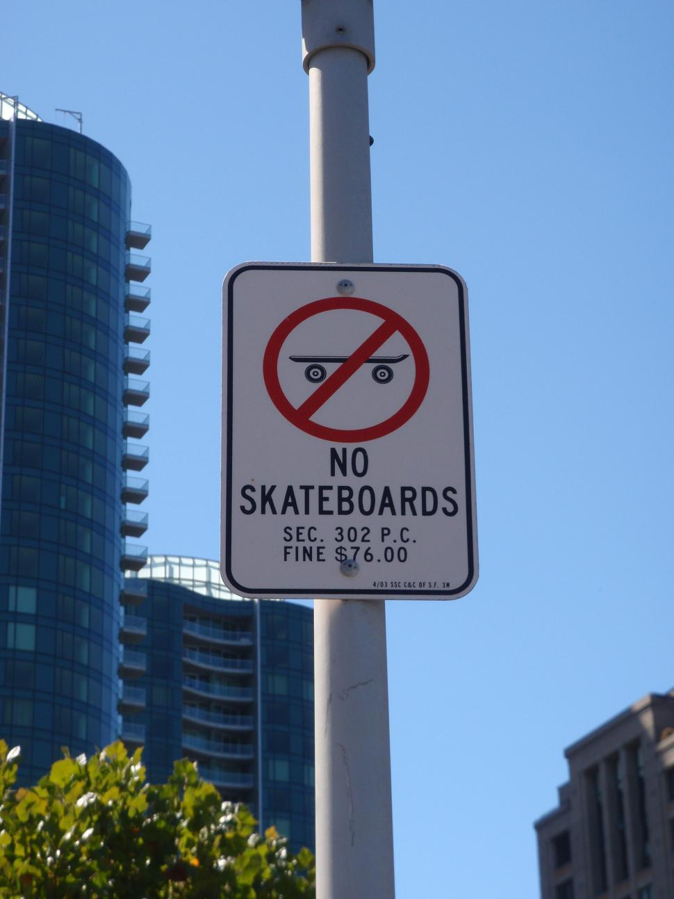 Download Free Stock HD Photo of No Skateboards Sign Online