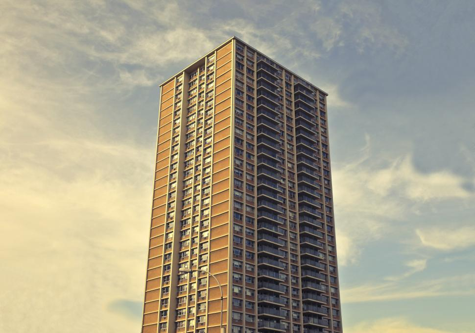 Download Free Stock Photo of A multistorey bulding