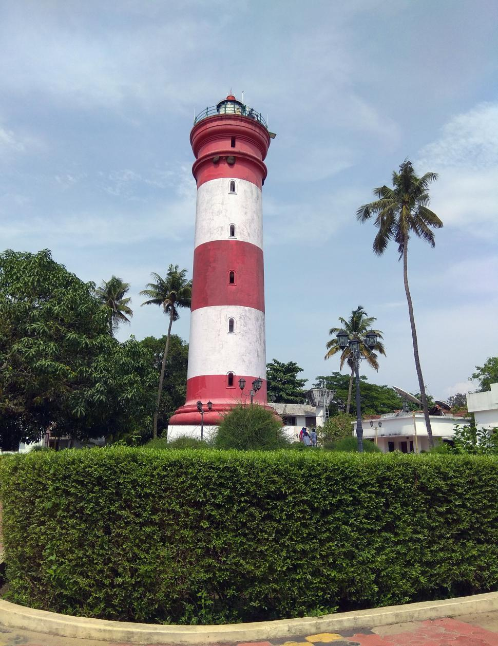 Download Free Stock HD Photo of Alleppey Light House  Online