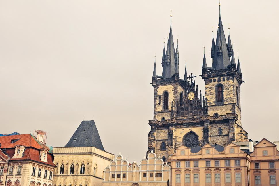 Download Free Stock HD Photo of Prague s Old Town Square Online