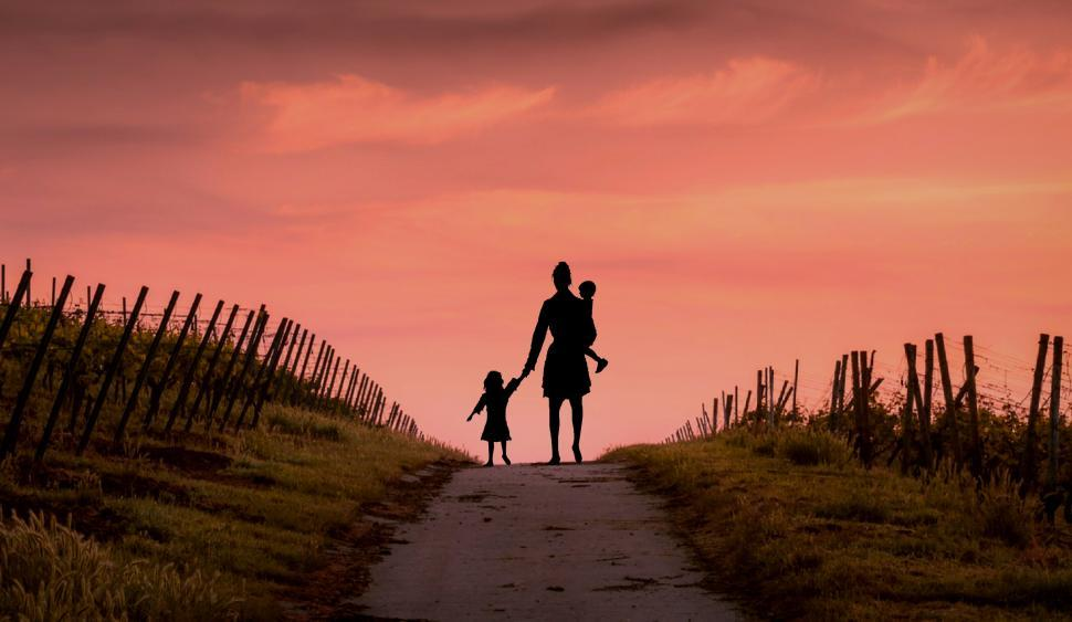 Download Free Stock HD Photo of homeless family Online