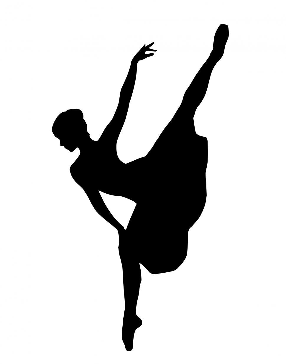 Download Free Stock HD Photo of ballet dancer Silhouette  Online