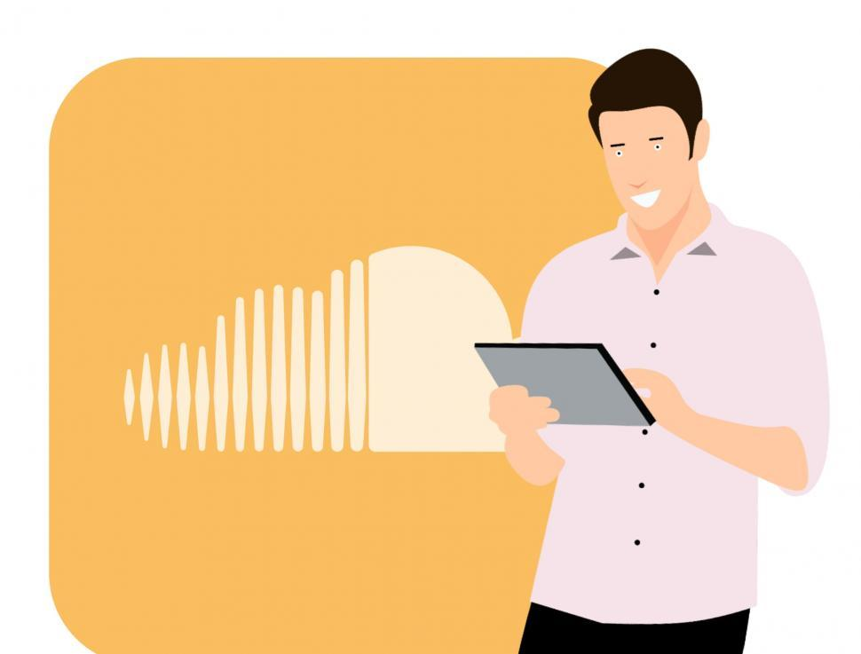 Download Free Stock Photo of SoundCloud promotion