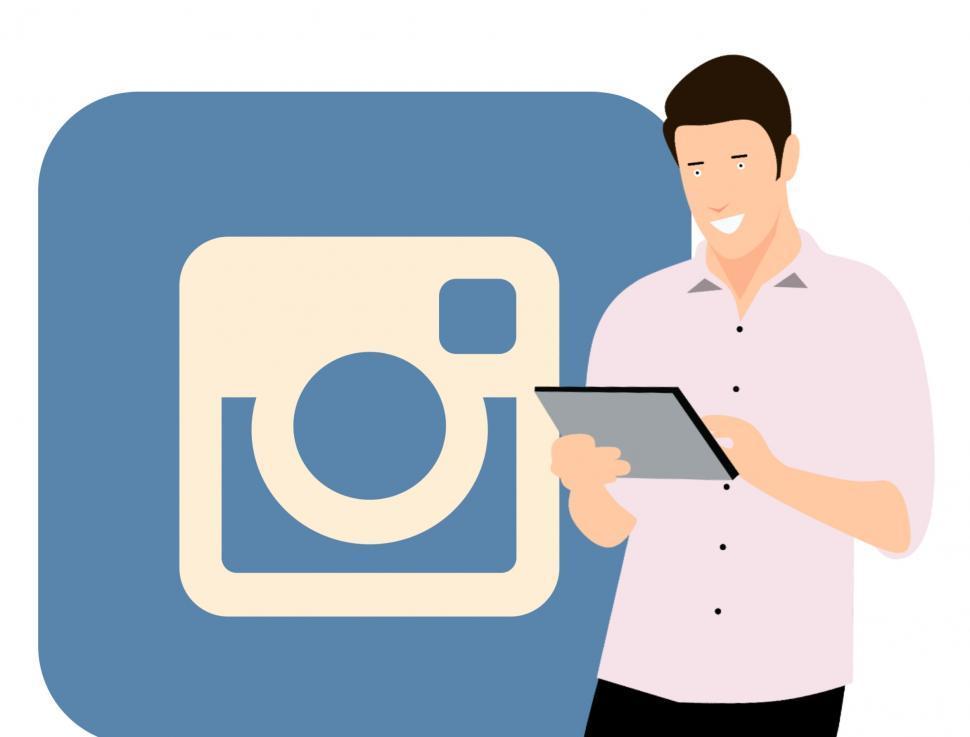 Download Free Stock HD Photo of Instagram social media marketing Online