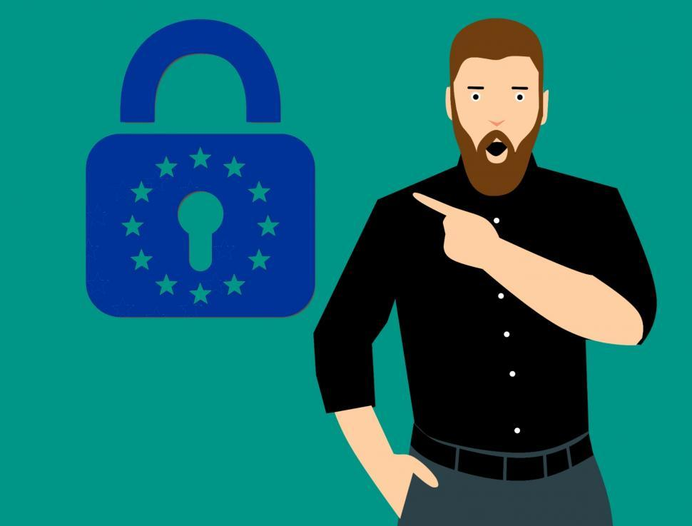 Download Free Stock Photo of gdpr