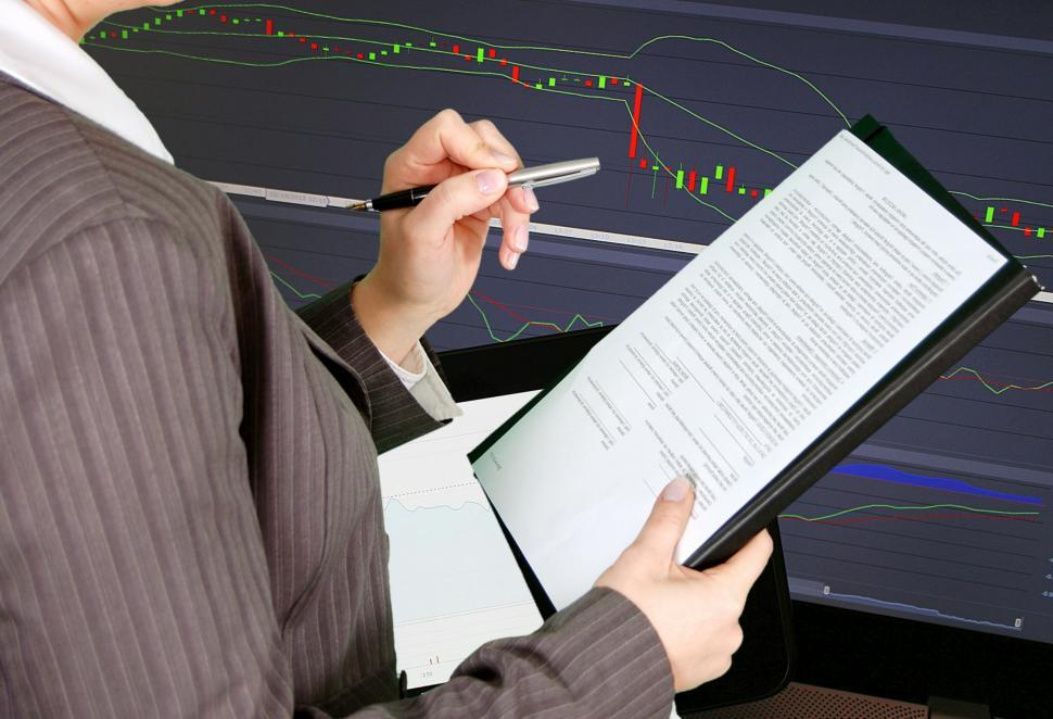 Download Free Stock HD Photo of business report  Online