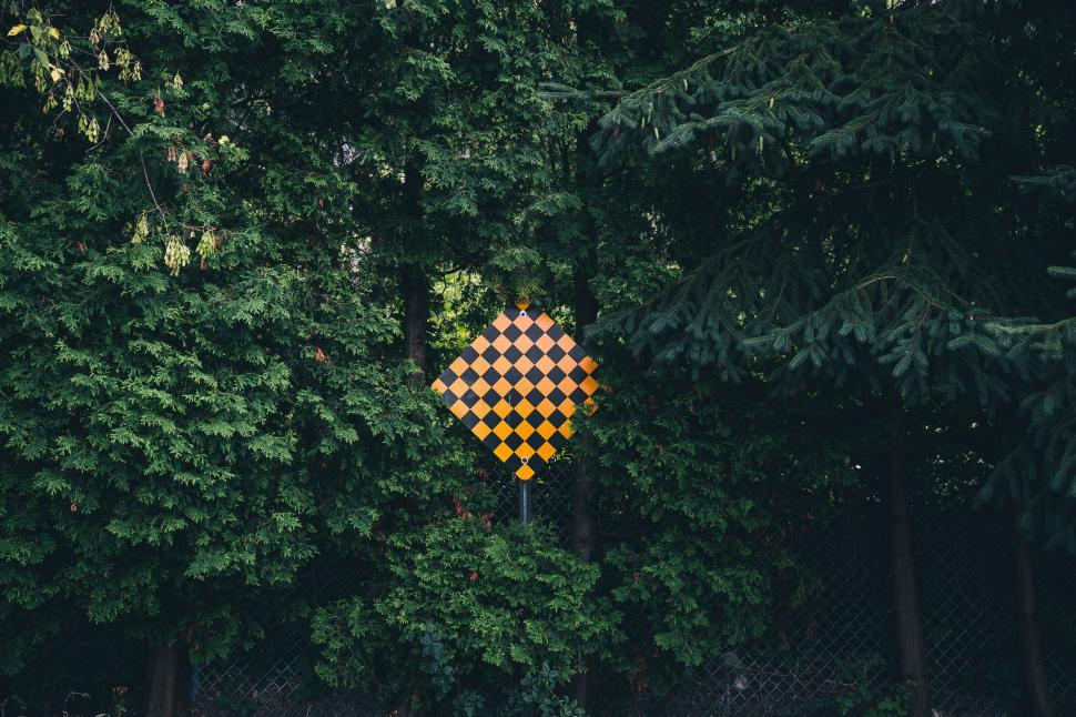 Download Free Stock Photo of Dead End  signboard in the forest