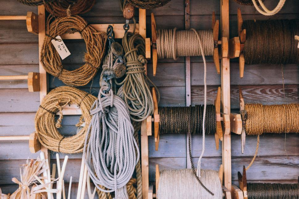 Download Free Stock Photo of Ropes and strings
