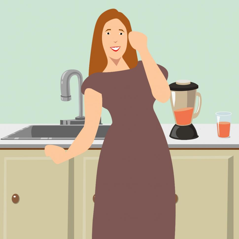 Download Free Stock HD Photo of housewife  Online