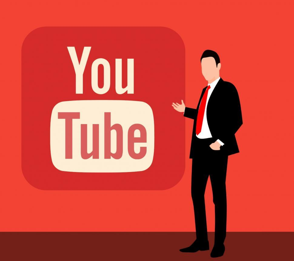 Download Free Stock Photo of YouTube