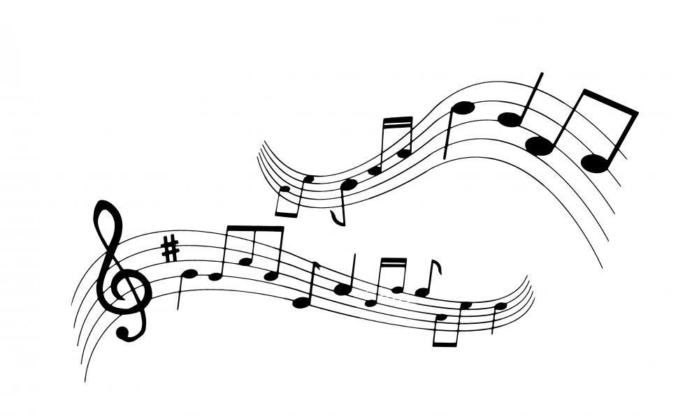 Download Free Stock Photo of music notes